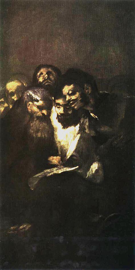men reading black painting francisco goya wallpaper image