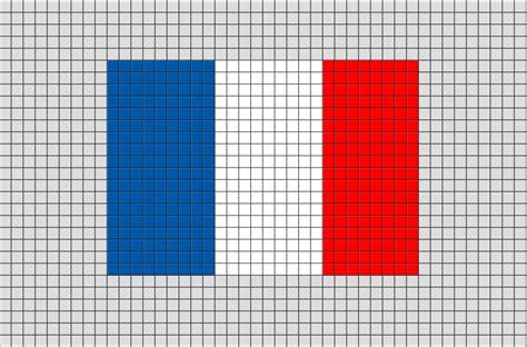 flag of pixel brik