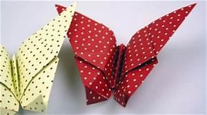 Origami Schmetterling Anleitung : origami ~ Frokenaadalensverden.com Haus und Dekorationen