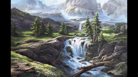 Oil Painting Landscape Demo