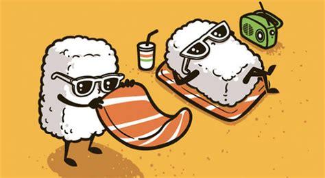 illustrazioni cibo divertenti le vignette  flying mouse