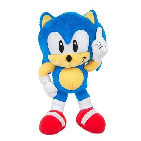 Sonic The Hedgehog Sonic 7 Plush Classic TOMY, Inc. - ToyWiz