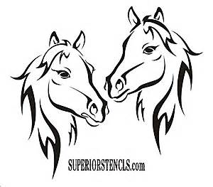 horseshoe wedding gift horses stencil create your own beautiful signs or