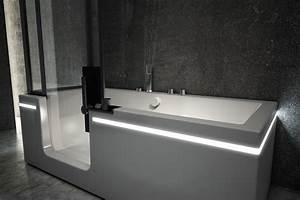 baignoire combinee douche avec porte With combine baignoire douche avec porte