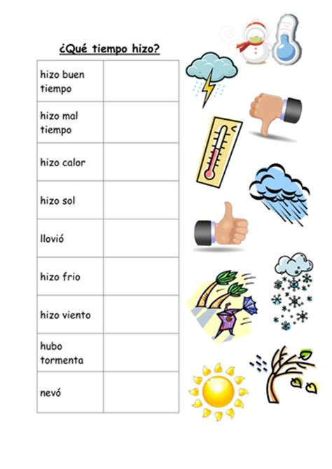 year 8 holidays weather and activities past tense by