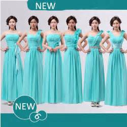 turquoise dress bridesmaid bridesmaid dress chifon bridemaids auqa turquoise blue bridesmaids dresses