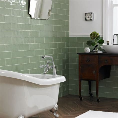 Green Bathroom With Modern And Cool Design Ideas Sage