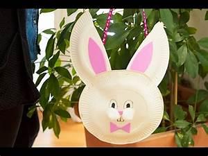 Bricolage De Paques : bricolage de p ques diy panier lapin pour la chasse aux ~ Melissatoandfro.com Idées de Décoration
