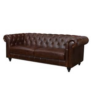 3 sitzer sofa leder chesterfield sofa furnlab bei home24 kaufen home24 at