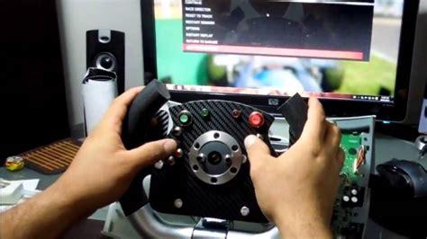 xbox  steering wheel mod  final youtube