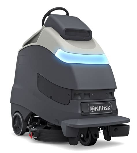Automatic Floor Scrubber Robot by Nilfisk To Launch Robotic Scrubber Dryer Ecj