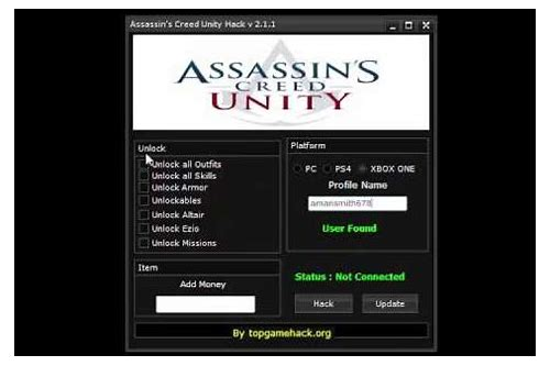 assassin's creed brotherhood money hack download