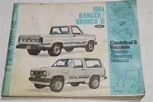 Shop 1984 Ford Ranger Service Manual