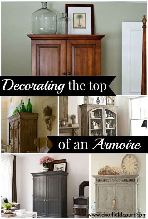 Decorating Ideas Top Of Armoire by Decorate The Top Of An Armoire