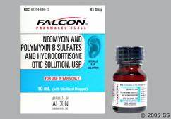 Neomycin / Polymyxin B / Hydrocortisone Images and Labels - GoodRx Hydrocortisone, Neomycin, and Polymyxin Otic