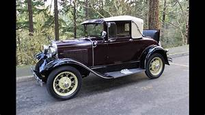 1930 Ford Model A Sport Coupe For Sale In Oregon  Charvet
