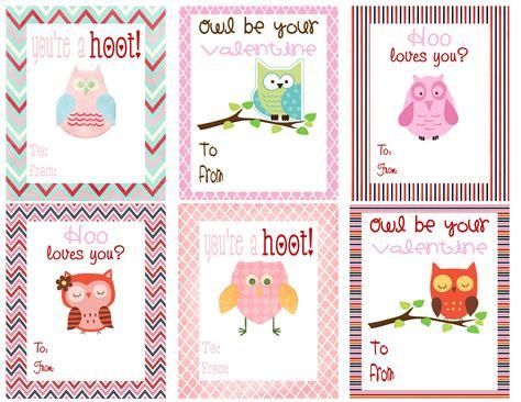 Owl Valentine | Printable valentines cards, Valentines ...