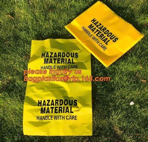 clinical hospital yellow waste bag medical trash bin