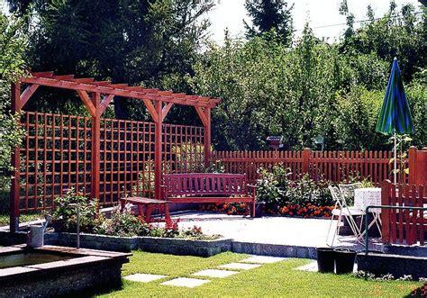 Pergola Garten Holz by Pergola Perfekter Sichtschutz F 252 R Den Garten Pergola