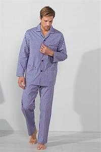 le pyjama homme vetements de nuit pour homme bernard With pyjama homme carreaux