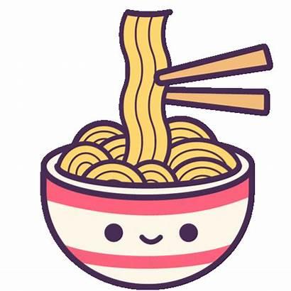 Noodles Ramen Kawaii Sticker Soft Giphy Gifs