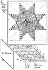 Quilt Patterns Star Lone Pattern Template Patchwork Quilts Native American Coloring Quilting Pages Lonestar Crazy Short Diamond Sewing Mckim Ruby sketch template