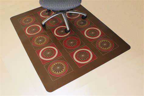 Carpeted Surface Chair Mats For Floors by Designer Chair Mats Are Office Mats Desk Mats By