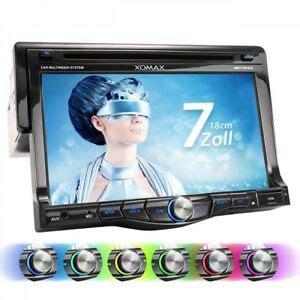 dvd player auto test autoradio mit bluetooth 18cm touchscreen dvd cd player usb