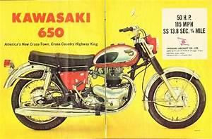 Dadsvintageads Com  1967 Kawasaki 650 W1 Motorcycle 2