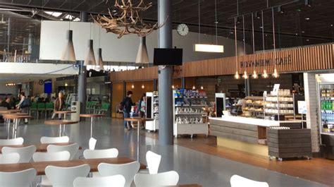 rovaniemi cafe  rovaniemi airport  lapland finland