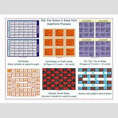 Indefinite Pronouns 6 Board Game Bundle By Eslfungames  Teaching Resources Tes