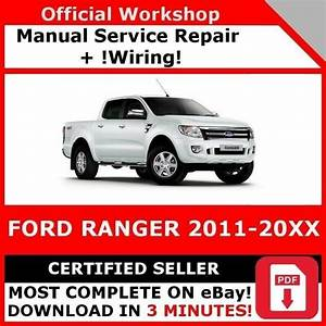 Factory Workshop Service Repair Manual Ford Ranger 2011