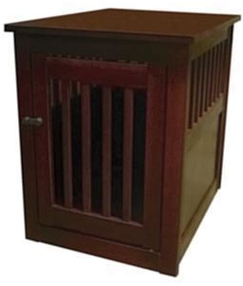 dog crate side table solid wood dog crate end side table office bedroom lg ebay