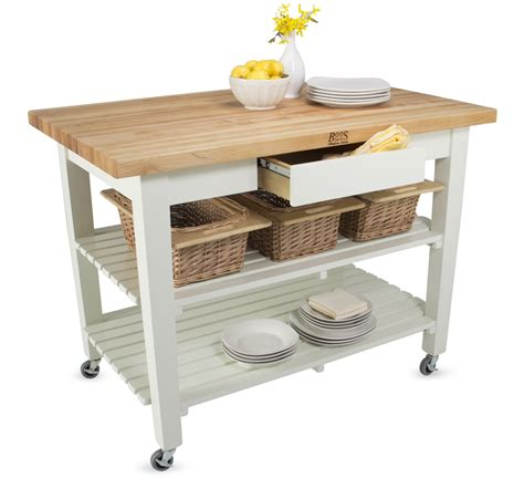 Kitchen Island Boos Boos Classic Country Work Table Island Table