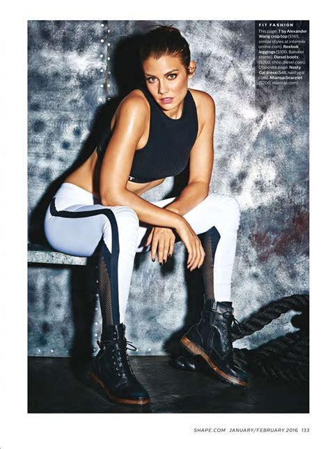 lauren young gym lauren cohan shape magazine january february 2016 01