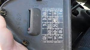 2000 Chrysler Neon Fuse Box Diagram