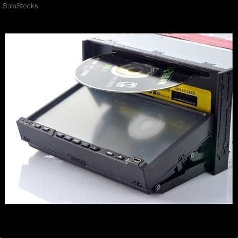 radio navegador 2 din coche con dvd gps bluetooth pantalla extraible 7