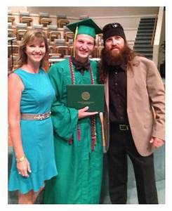 Missy and Jase Robertson's son Reed HS graduation and ...