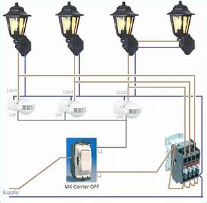 How To Wire Outside Lights Diagram