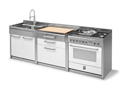 lavello freestanding modulo cucina con lavello doppio genesi modulo cucina
