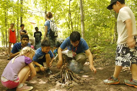 wilderness survival skills campers learn  nature