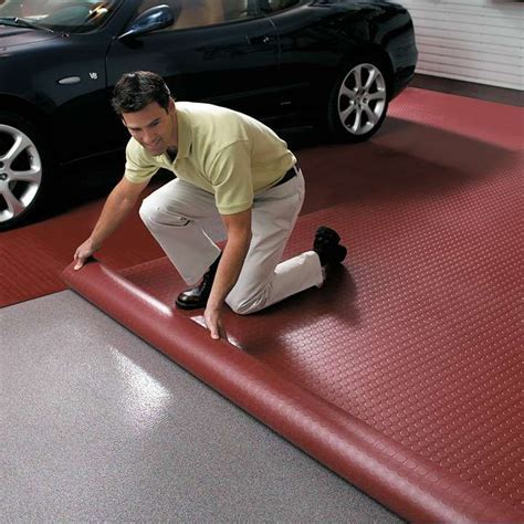 PVC Floor Covering to protect garage floor   Sunshine