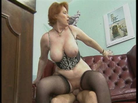 Redhead With Big Tits Takes On Two At A Time Free Porn