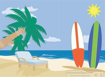 Beach Clipart Sand Surfboards Sitting Surfing Sports