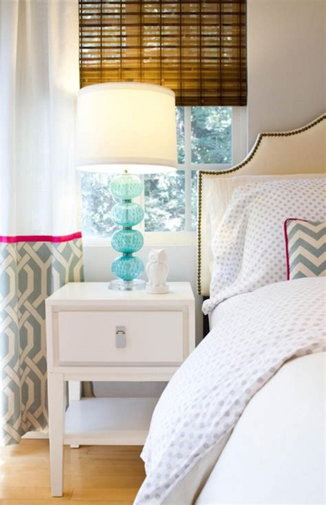 turquoise lamps contemporary bedroom turquoise la