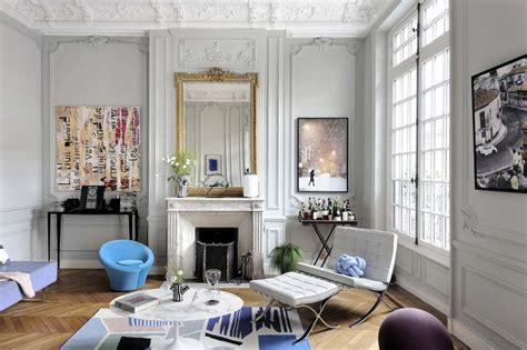 chambre et table d h e un appartement haussmannien réhabilité par l 39 architecte