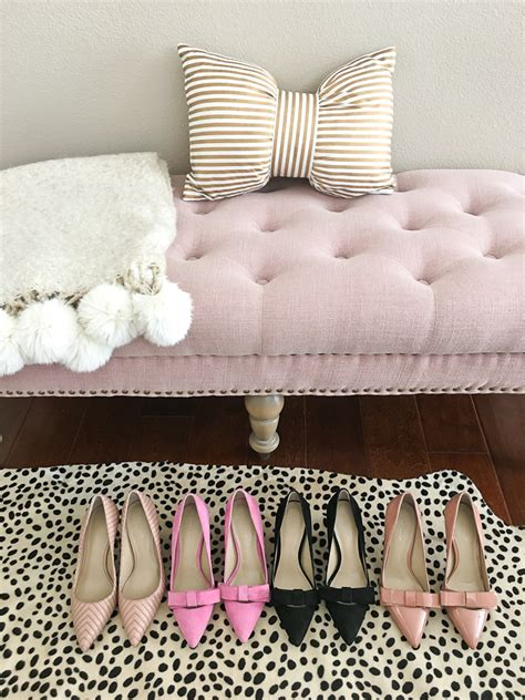 pink tufted bench 50 everything at plus free shipping