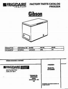 Gibson Freezer Parts