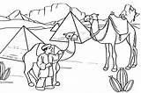 Coloring Pages Camel Desert Drawing Egypt Camels Egyptian Printable Caravan Scene Pyramids Template Colouring Animal Sketch Printables Transport Sahara Getdrawings sketch template