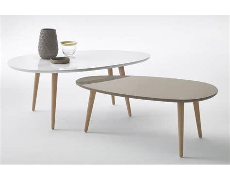 table basse gigogne table basse scandinave gigogne